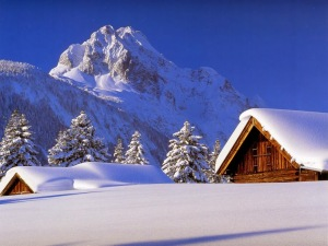 winter-mountain-cabin
